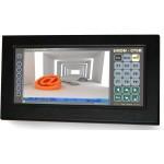 Промышленный TFT LCD VGA монитор c сенсорным экраном семейства tiMON