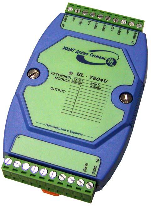 Модули удаленного ввода-вывода I-7000