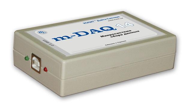 микросистему сбора данных m-DAQ14
