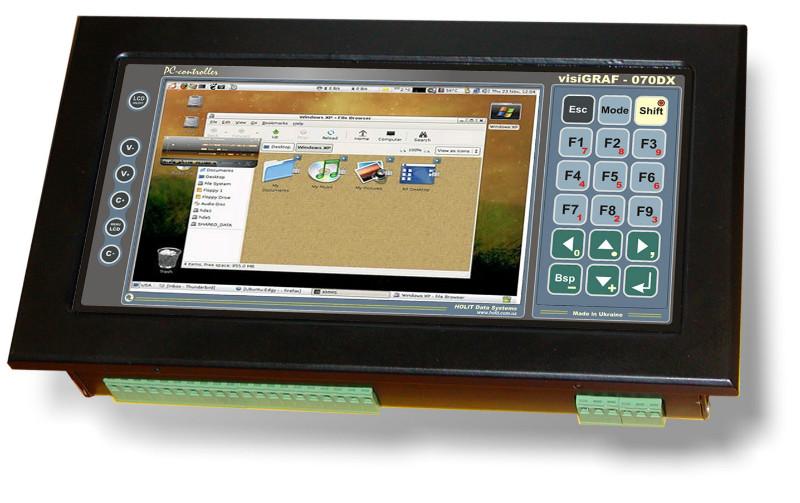 Новая модель контроллера visiGRAF-070
